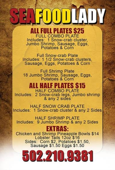 Look For Daily Specials At The Window Or Follow Her On Facebook And Instagram Yelp