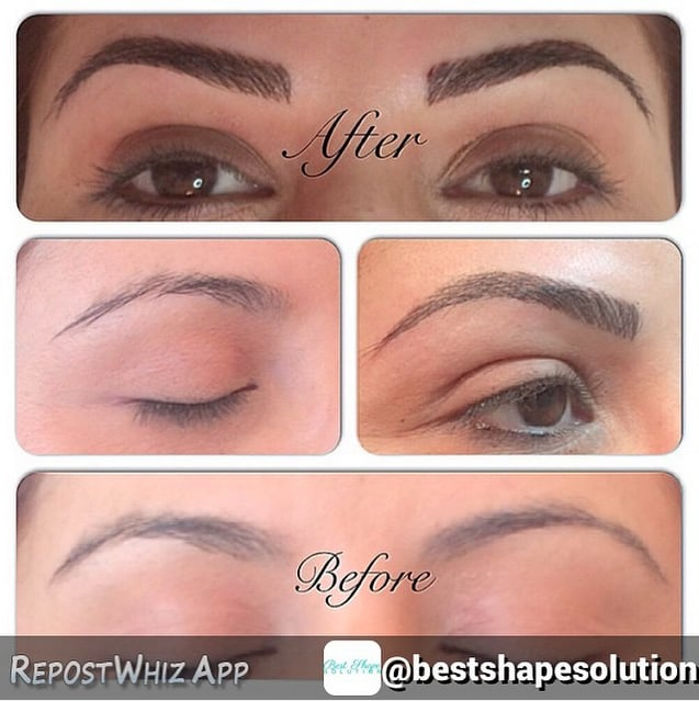 3D Hairstroke Eyebrow Tattoo - Yelp