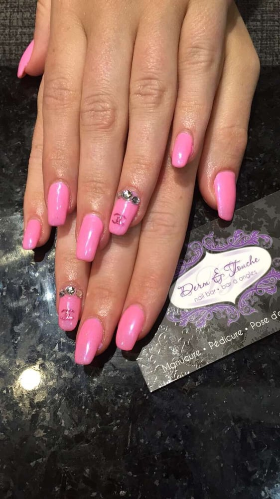 Bar a ongles nail salons 1670 boulevard des for Ongles salon