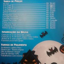 Toca da Bruxa - Pizza - Praça Matriz 5c1501e2e97