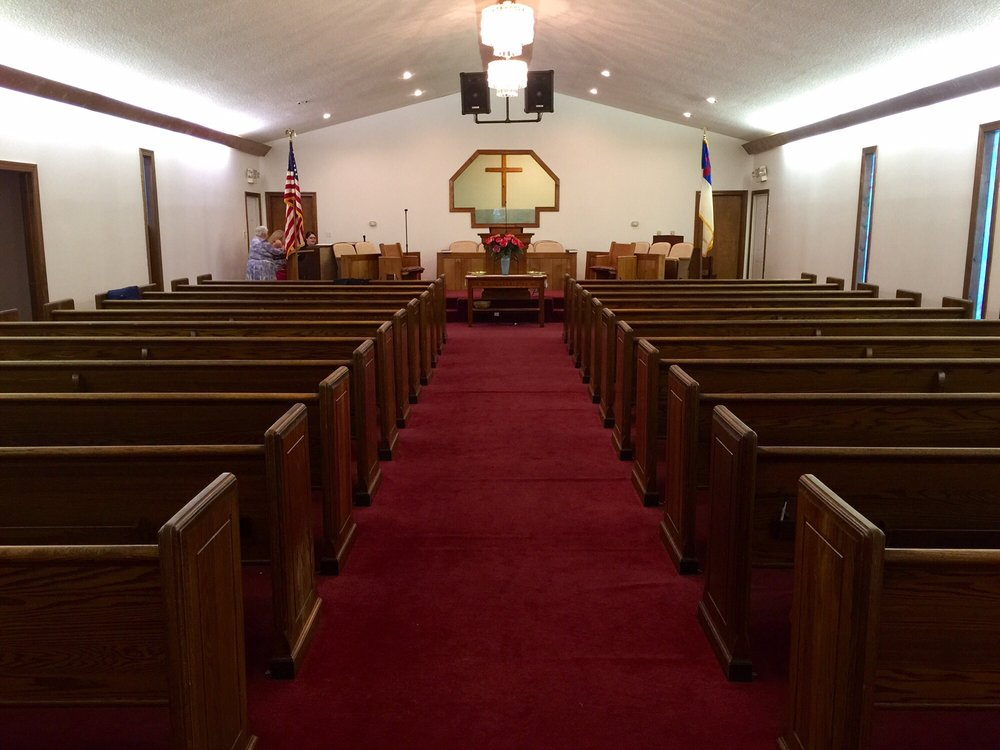 Mount Olive Free Will Baptist Church: 310 W Williamson St, Mount Olive, NC