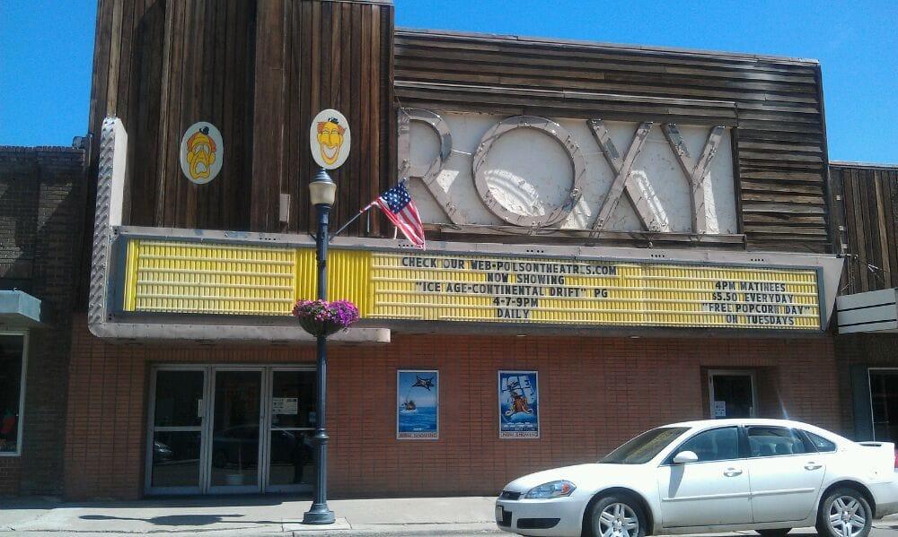 Postcard #176 (The Roxy Theater—Missoula, Montana ... |Roxy Theatre Montana