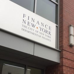 phone nyc department of finance
