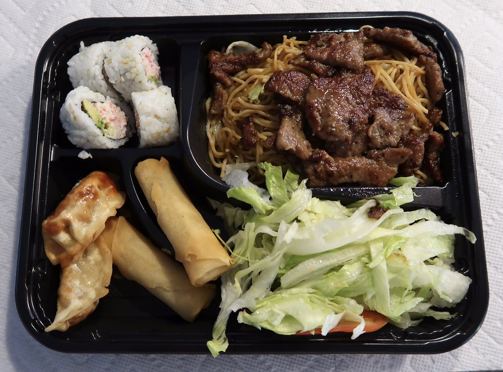 Food from Quickway Japanese Hibachi
