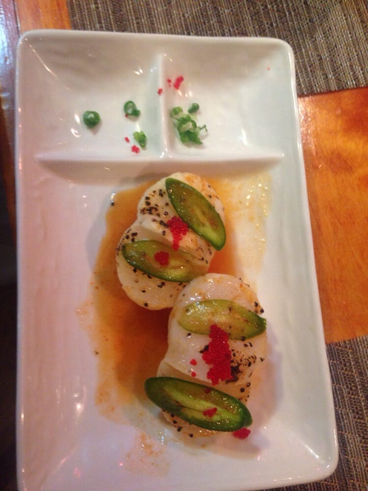 Wonderful scallops we love this place yelp for Asuka japanese cuisine