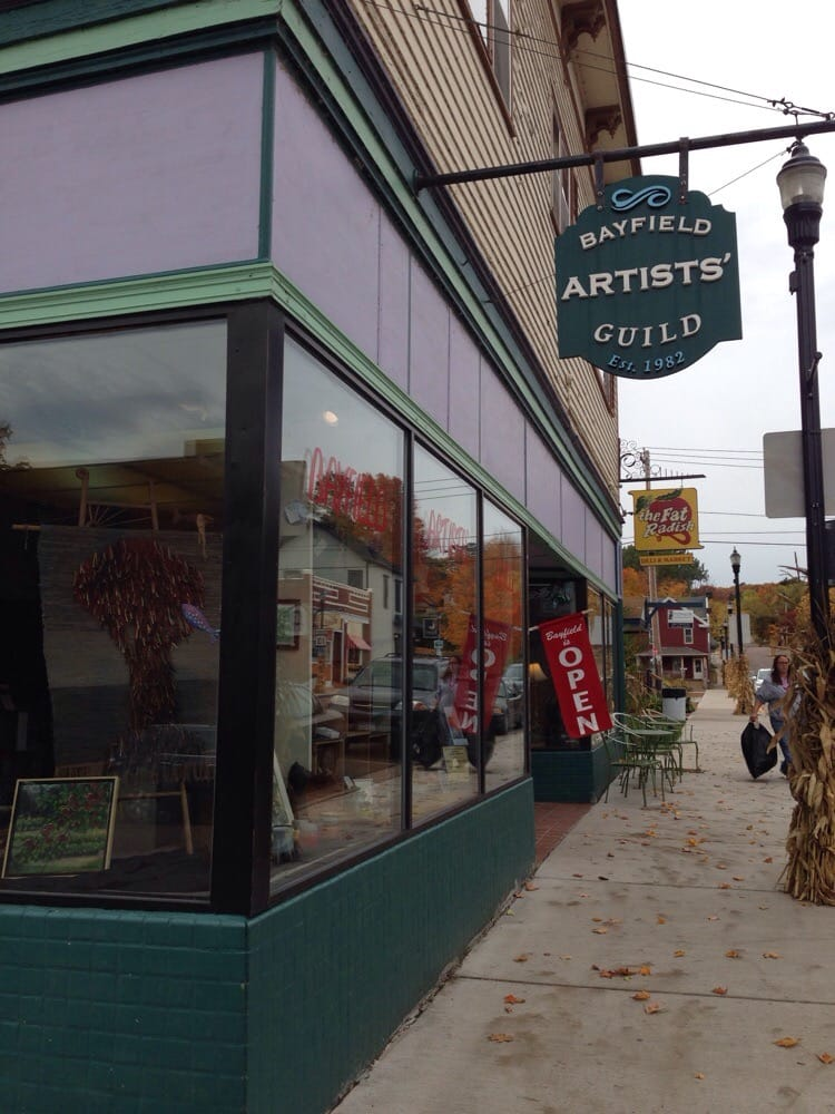 Bayfield Artists Guild: 200 Rittenhouse Ave, Bayfield, WI