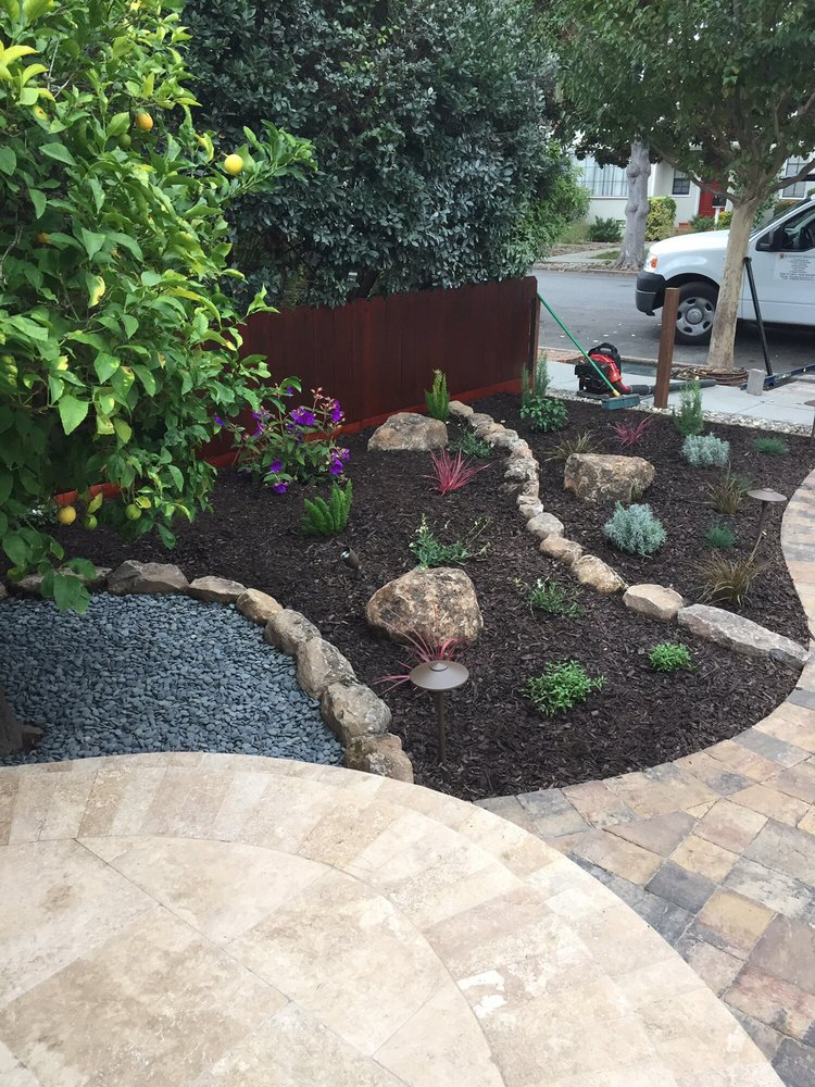Rock Border And Placement Was Designed By Jose   Yelp