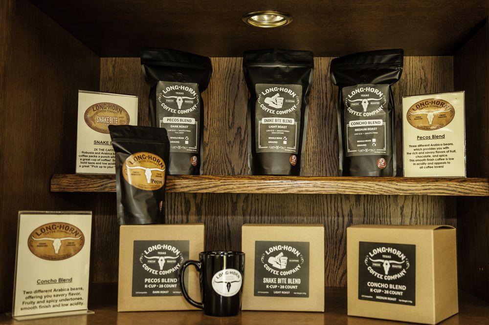 LongHorn Coffee: 4465 Christoval Rd, San Angelo, TX