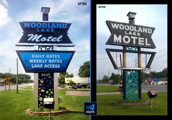 Photo Of Woodland Lake Motel Brighton Mi United States