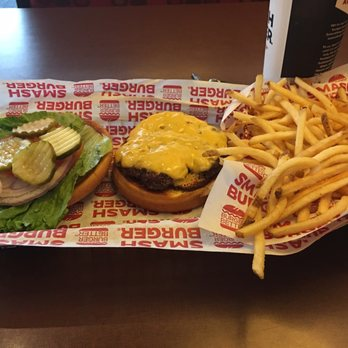 ... of Smashburger - Charlotte, NC, United States. Classic smash burger