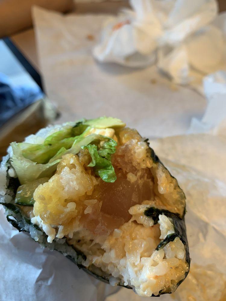 Food from Sushi Burrito #5