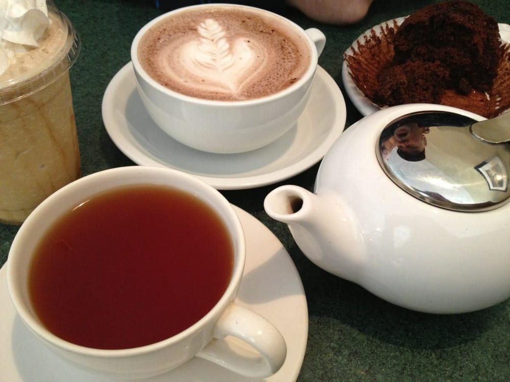Hot Chocolate English Breakfast Tea And Blended White