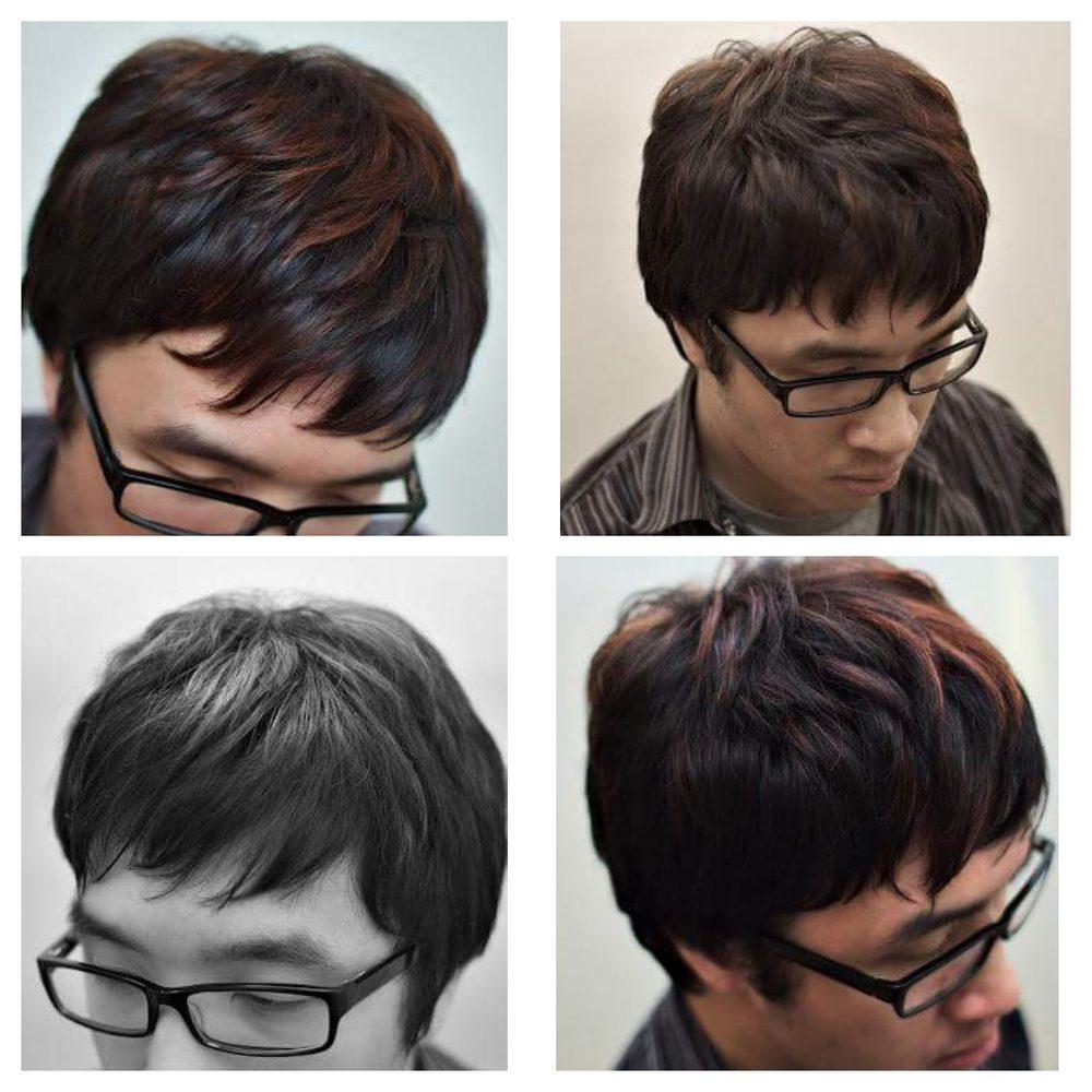 Hair By Van Men Texturize Razor Cut And Highlight Yelp