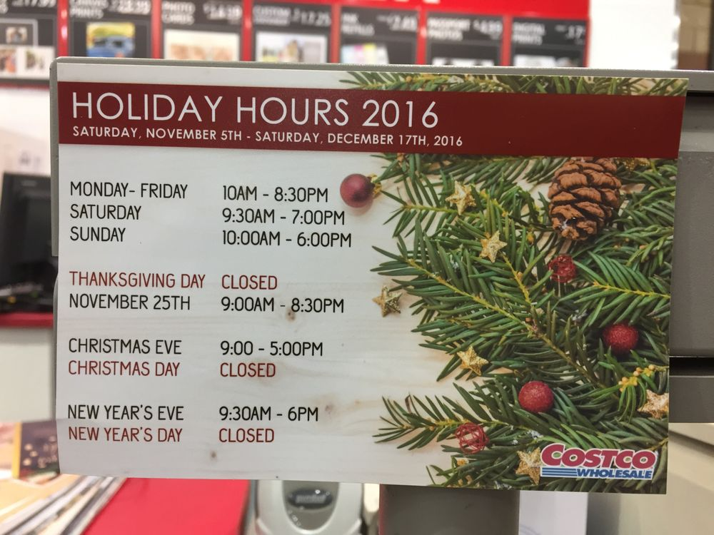 canada goose store hours for costco - Is Costco Open On Christmas Day
