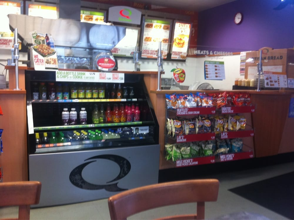 Quiznos: 701 E Main St Ste A, Weatherford, OK