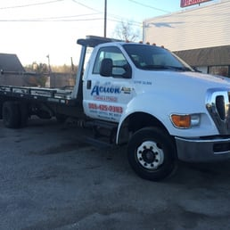 Photo Of Action Towing U0026 Storage LLC   Worcester, MA, United States