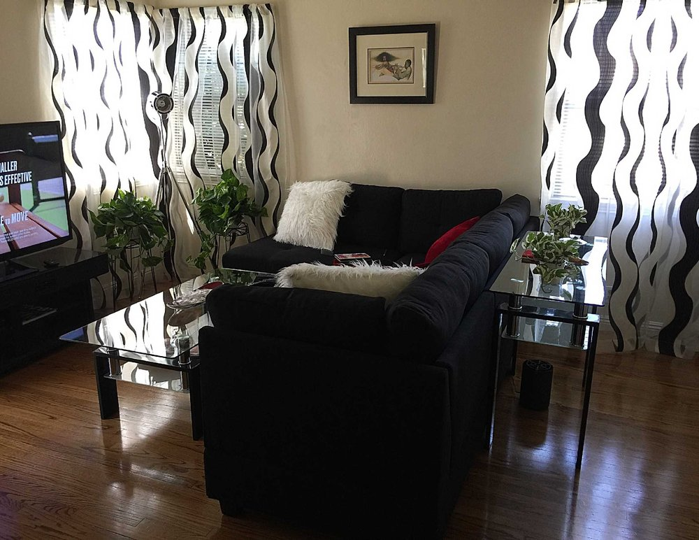 Steal A Sofa Furniture Outlet: Update Sofa With Coffee And Sofa Table. I'm Loving It!