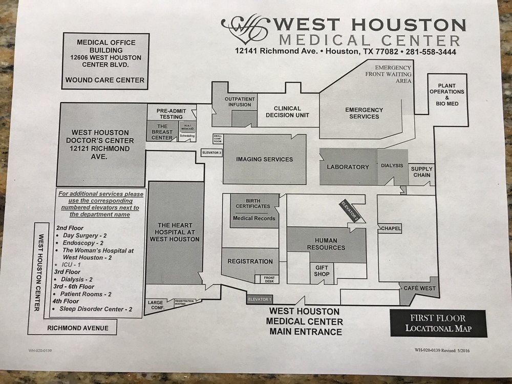 West Houston Medical Center 11 Photos 61 Reviews Hospitals