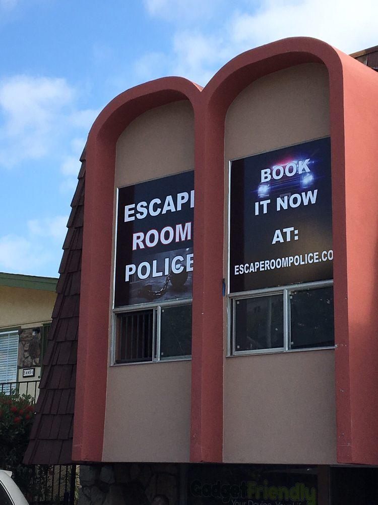 Police Escape Room San Diego