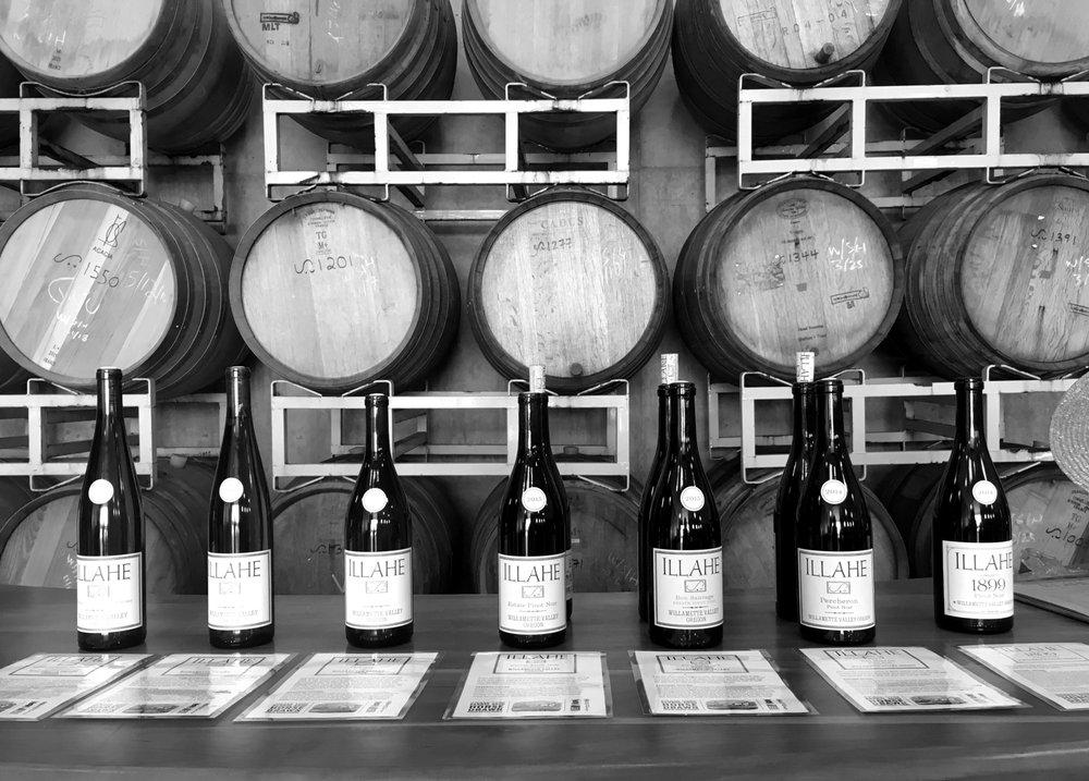 Social Spots from Illahe Vineyards