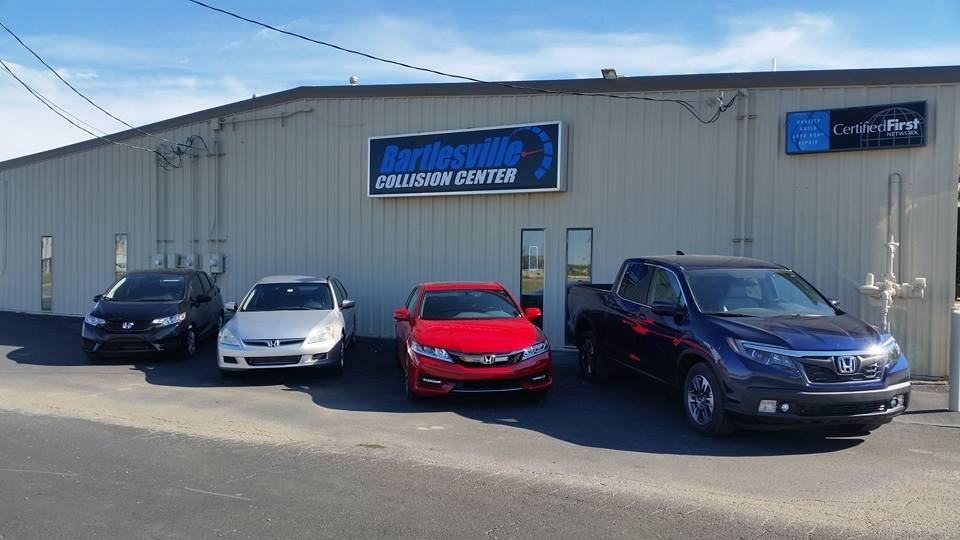 Bartlesville Collision Center: 140 NE Washington Blvd, Bartlesville, OK