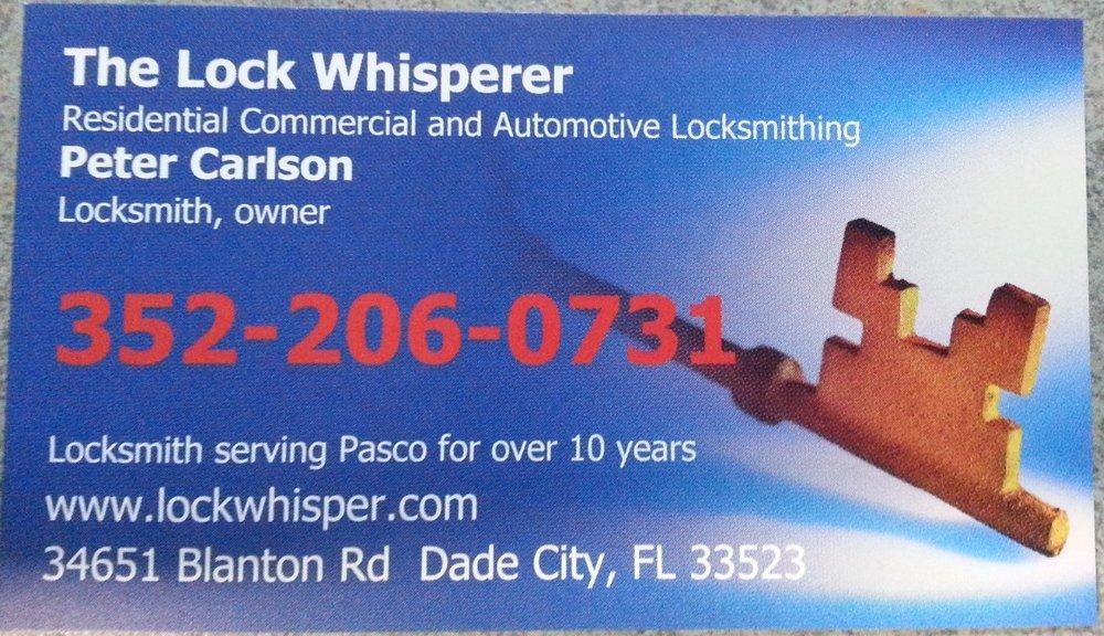 The Lock Whisperer: 34651 Blanton Rd, Dade City, FL