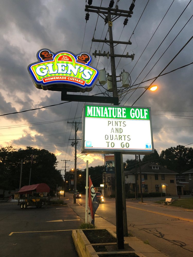 Glen's Frozen Custard: 400 Pittsburgh St, Springdale, PA