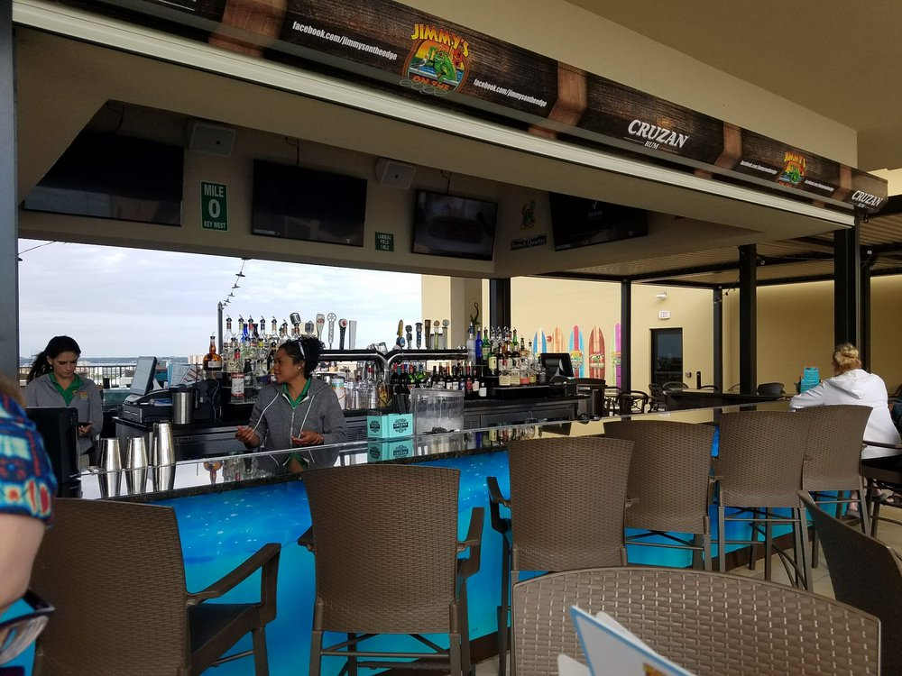 Jimmy's On The Edge: 505 S Gulfview Blvd, Clearwater, FL