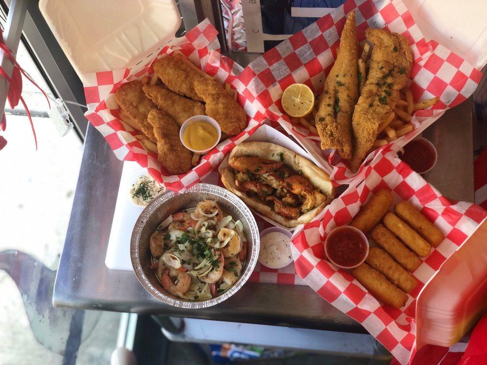 Starfish and Chips: 1003 Broadway, Bayonne, NJ