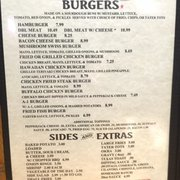 Menu Photo Of Dusty Boot Bar Grill Freer Tx United States