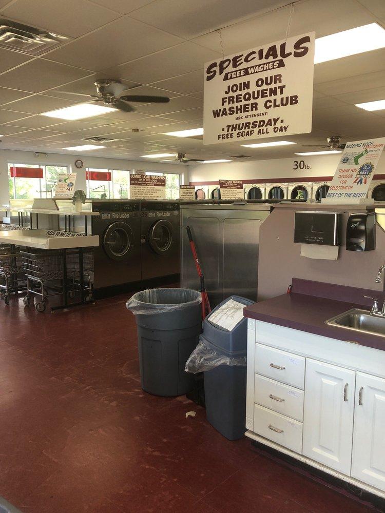 Missing Sock Coin Laundry: 9220 Lapeer Rd, Davison, MI