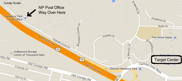 US Post Office: 3401 Grande Vista Dr, Newbury Park, CA