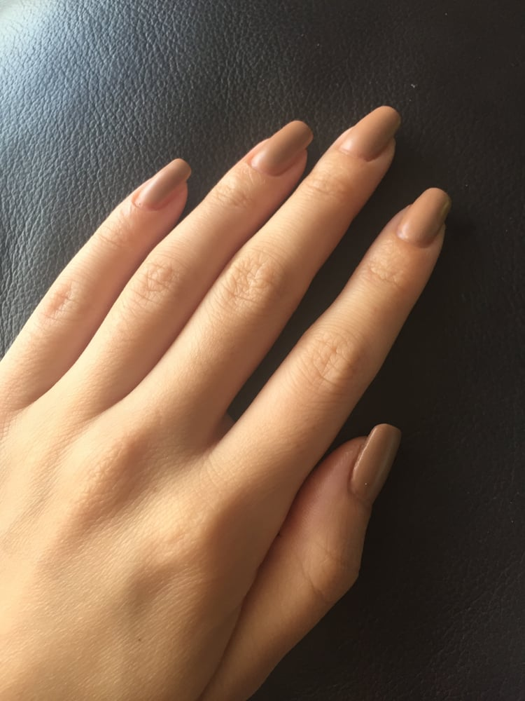 Matte gel manicure by Mai - Yelp