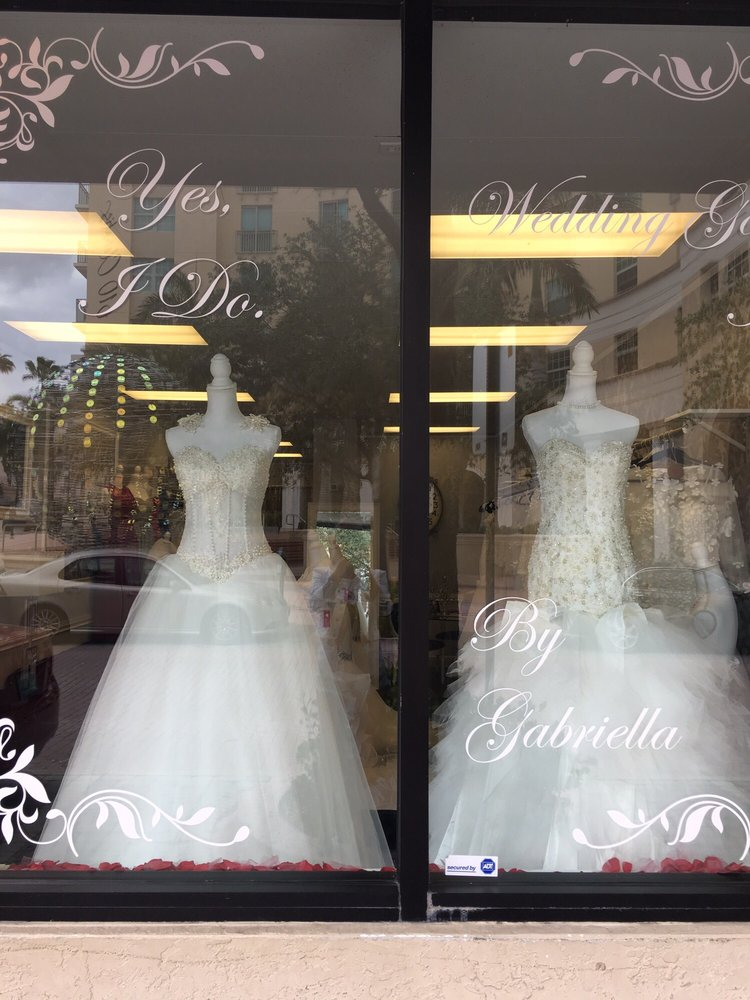 Yes i do wedding gowns by gabriella brudeudstyr 540 for Wedding dresses in west palm beach