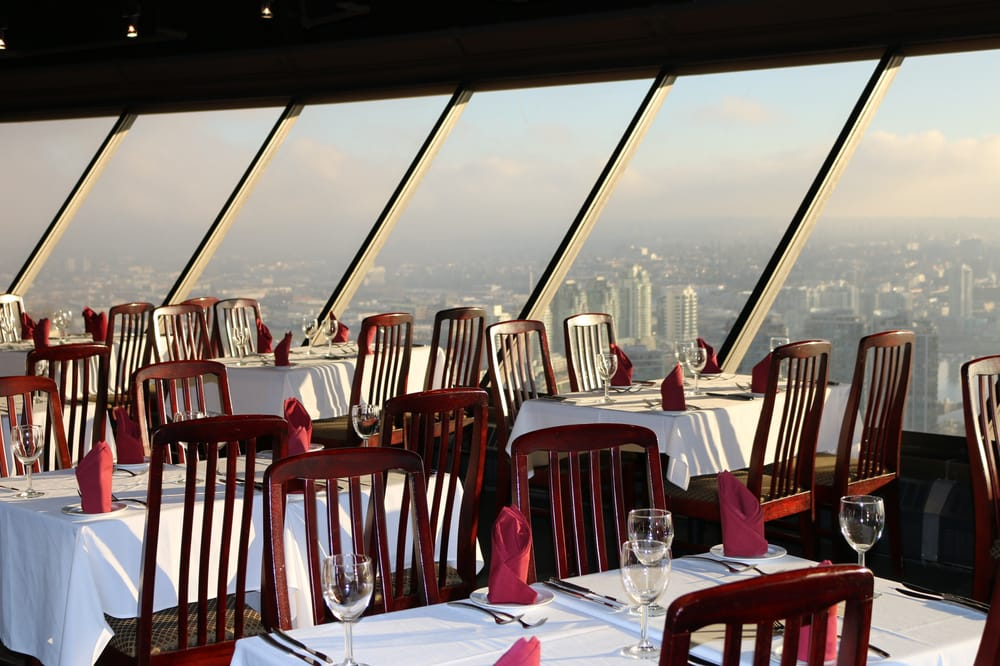Revolving Restaurant Vancouver Close