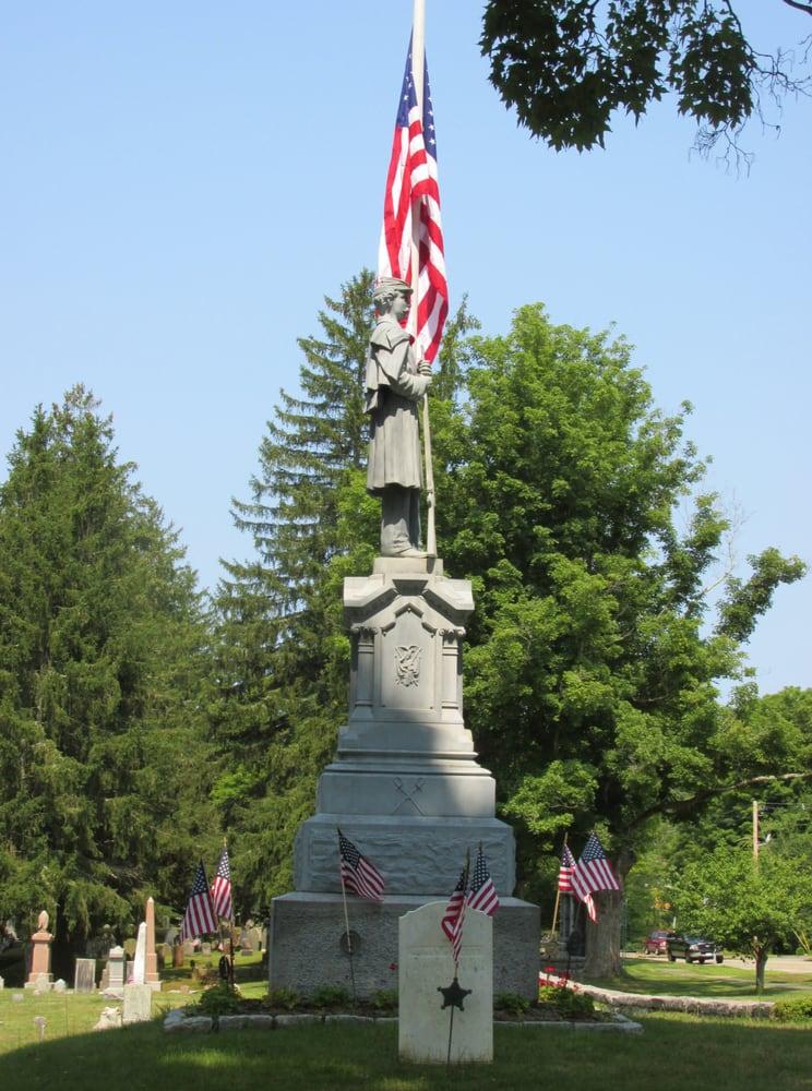 Brookfield Cemetery: W Main St, Brookfield, MA