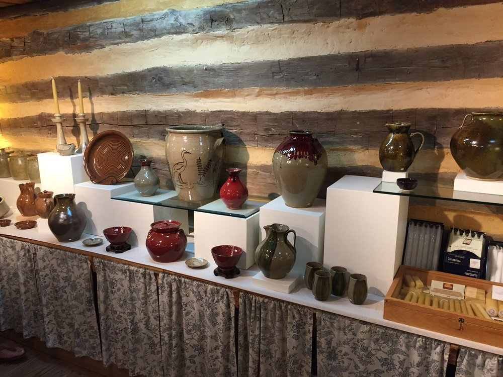 Jugtown Pottery: 330 Jugtown Rd, Seagrove, NC