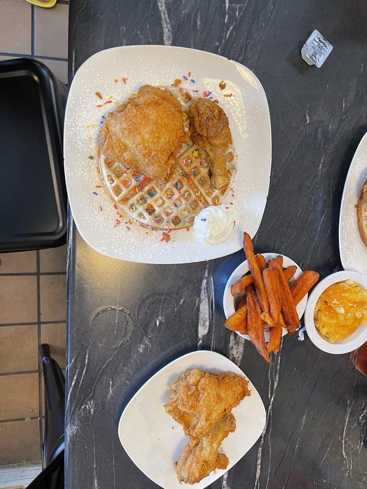 Chicken & Waffles at Kinfolk: 7319 Indrio Rd, Fort Pierce, FL