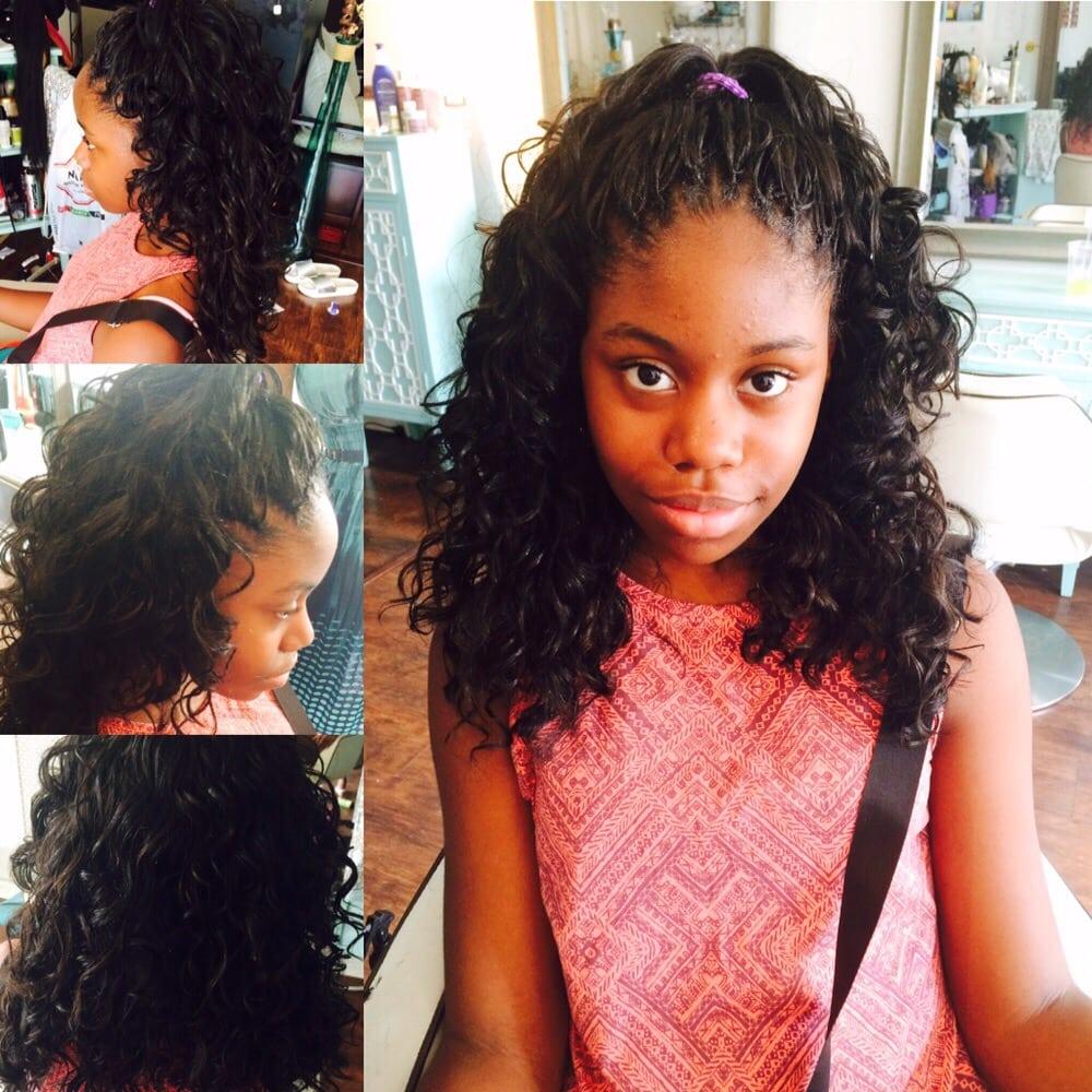 Crochet Braids Using Freetress Gogo Curls Hair Yelp