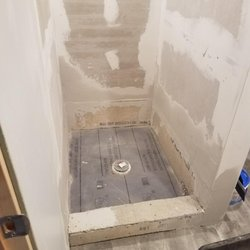 Photo Of Dyna Rooter Schaumburg Il United States The Shower Pan