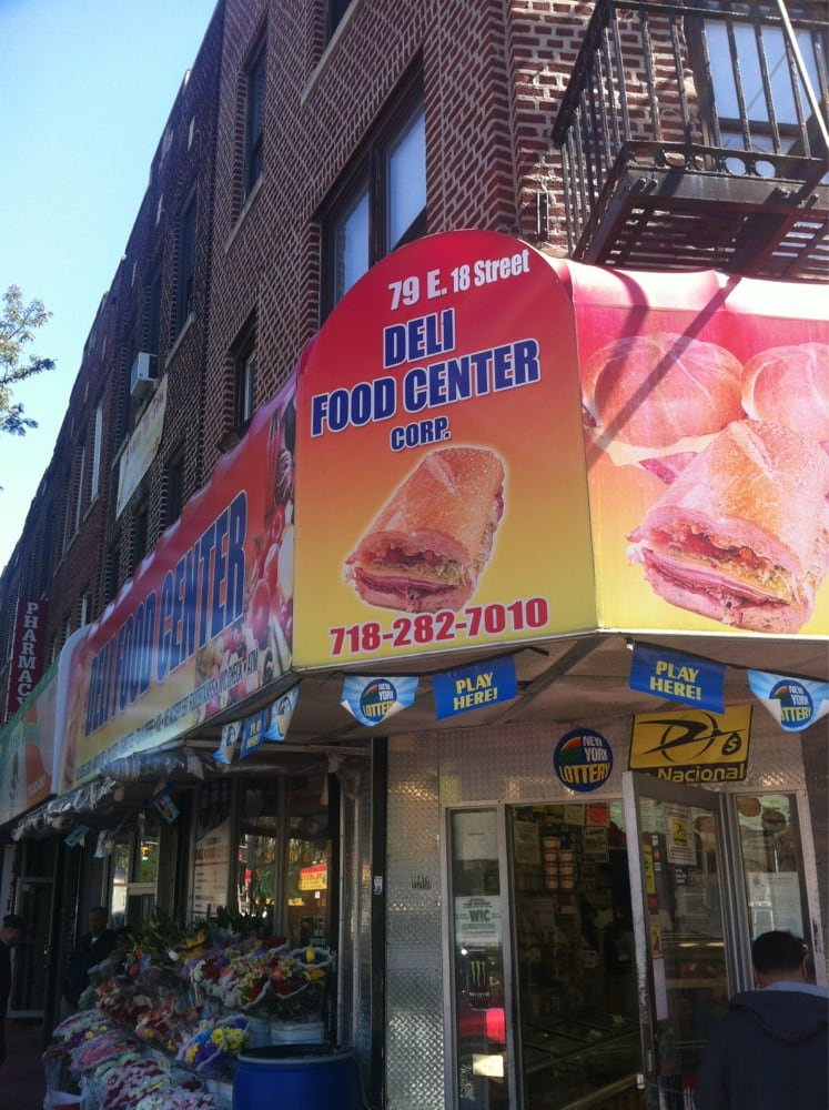 Deli Food Center Grocery 79 E 18th St Flatbush New York Ny