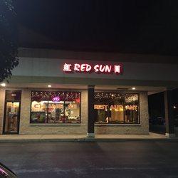 Photo Of Red Sun Lindenhurst Il United States