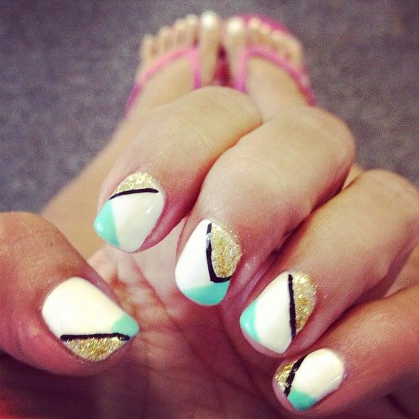 Gel nail polish design! - Yelp