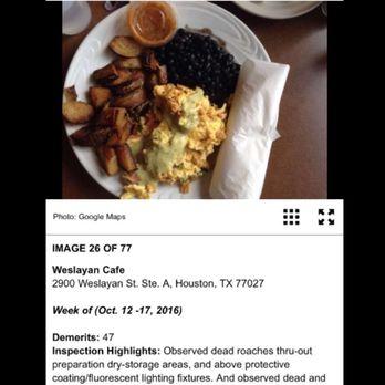 Weslayan Cafe Reviews