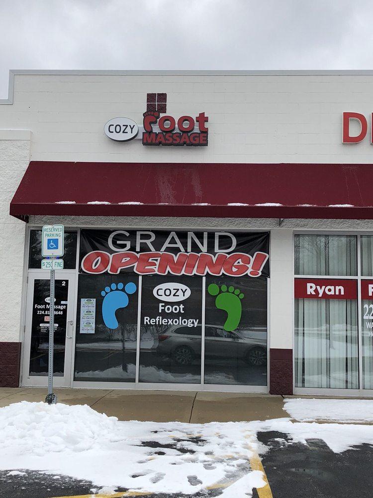 Cozy Foot Massage: 895 E Grand Ave, Lake Villa, IL