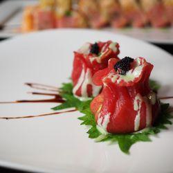 Photo Of Iron Chef Wallingford Ct United States Tuna Wasabi Dumpling