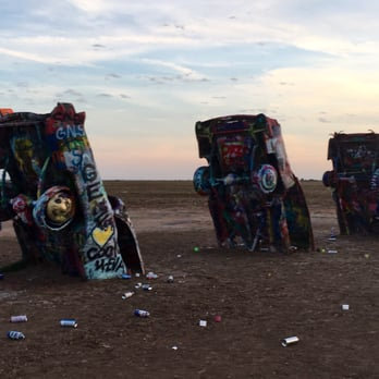 cadillac ranch 348 photos 171 reviews landmarks historical buildings i 40 amarillo. Black Bedroom Furniture Sets. Home Design Ideas