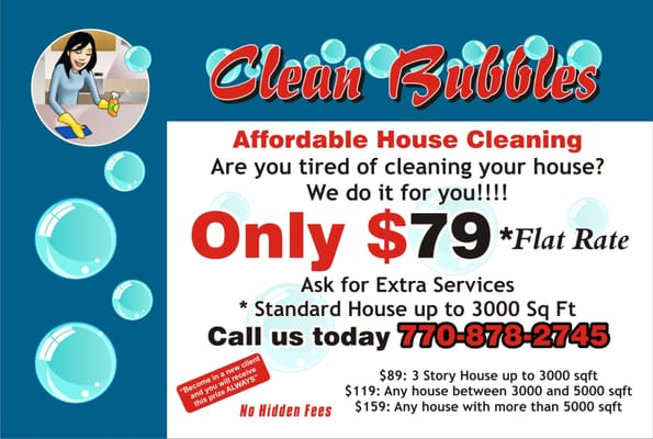 Clean Bubbles House Cleaning - Home Cleaning - 13294 Kemper Rd ...