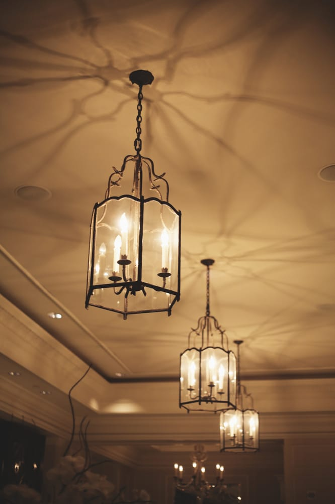 Beautiful Lighting Fixtures In The Lobby.