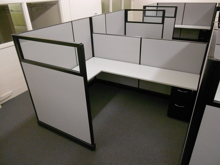 Photo Of The Office Manager Lawrence Ma United States Cubicle Project